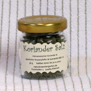 Koriander Salz